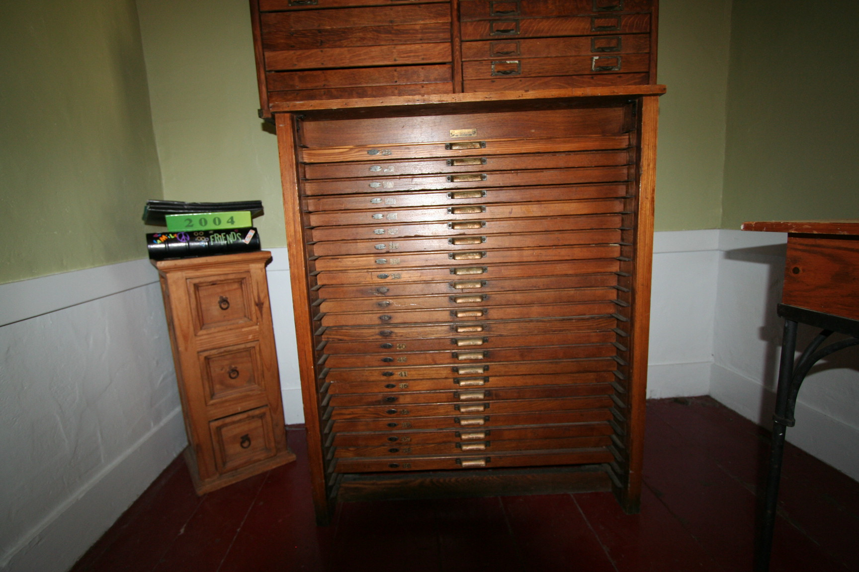 Library Card Catalog Cabinet For Sale images