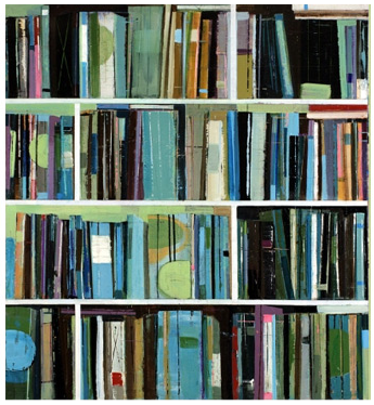 Book-Inspired Paintings by Stanford Kay