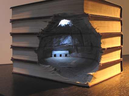 book art, altered book