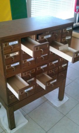 Library Card Catalog for Sale! ($325)