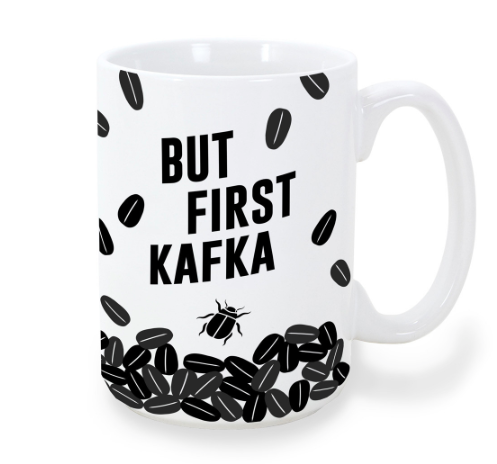 """But First Kafka"" Mug"