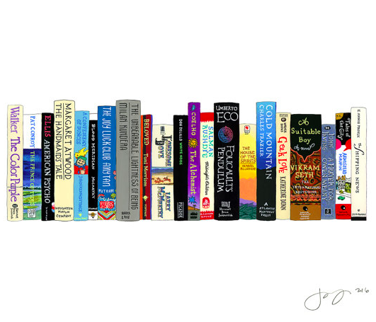 """Ideal Bookshelf"" Prints"